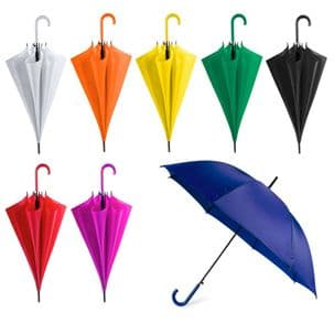 Pack of 2 Colourful Automatic Umbrellas